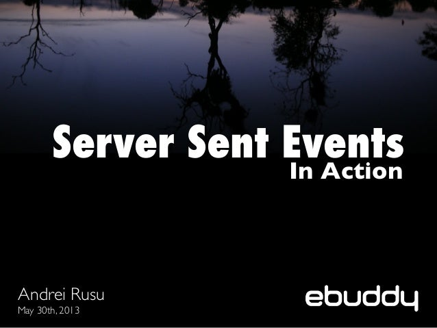 Server-Sent Events in Action