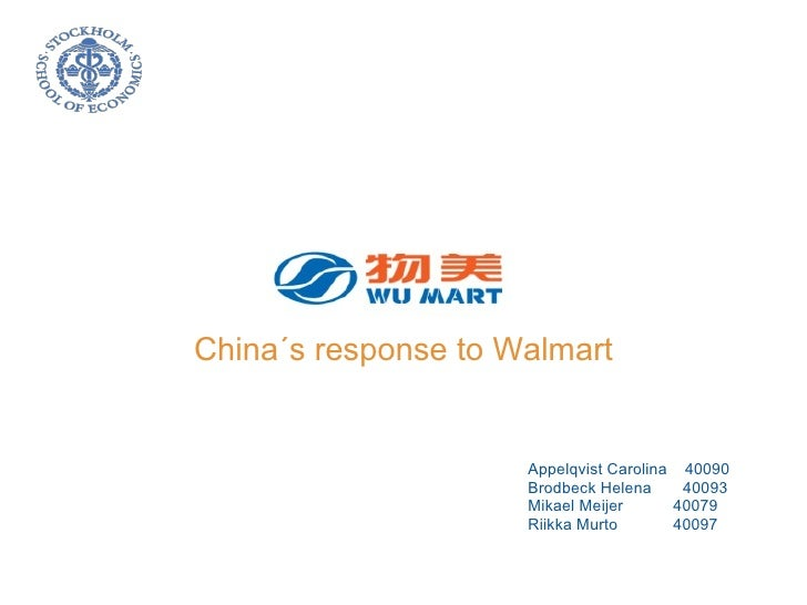 wumart stores china s response to wal mart Beijing-based retailer wumart stores inc will establish a joint venture with beijing aoshikai group co, a traditional grocery operator and food processor, in a bid to further tap the capital's retail sector, according to reports.