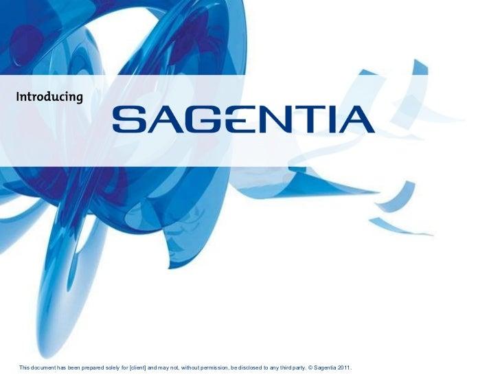 Sagentia Corporate Overview