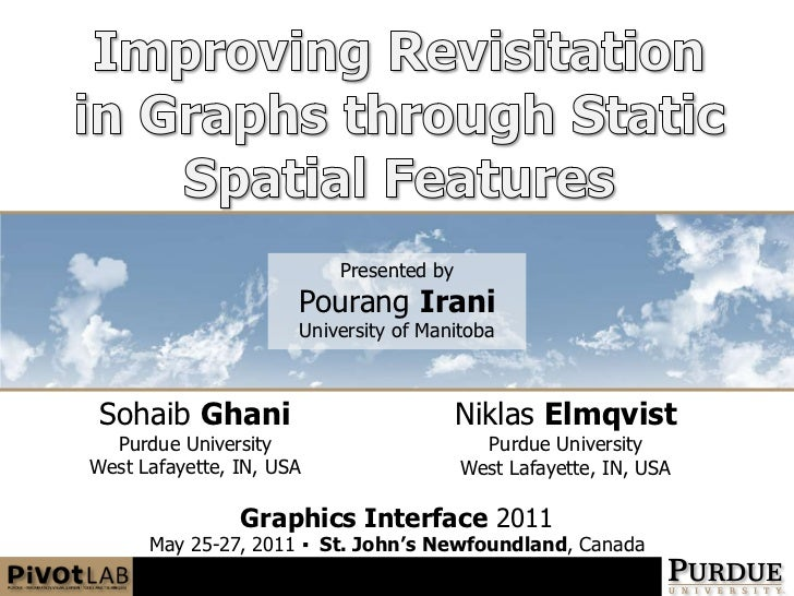 Improving Revisitation in Graphs through Static Spatial Features<br />Presented by<br />PourangIrani<br />University of Ma...