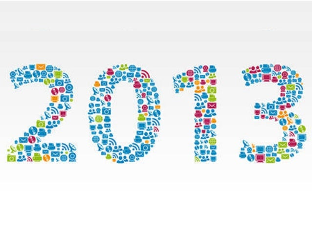 2013 Trends - Consumer : Media : Technology