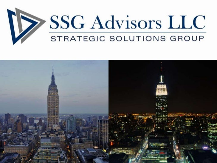 Why SSG Advisors LLC?   Choosing the right consulting firm is challenging. SSG Advisors    strives to meet all of your re...