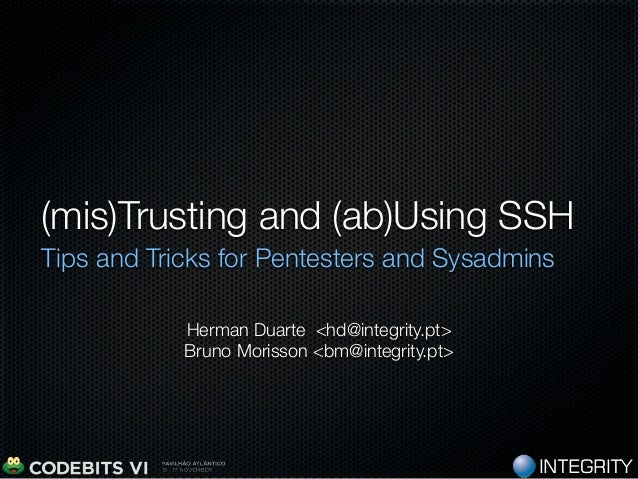 (mis)Trusting and (ab)Using SSH - Extended Version