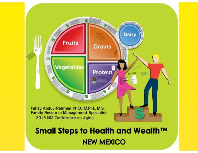 Small Steps to Health and Wealth [Prezi]- NM Conference on Aging 2013