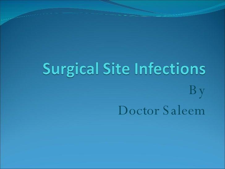 By Doctor Saleem