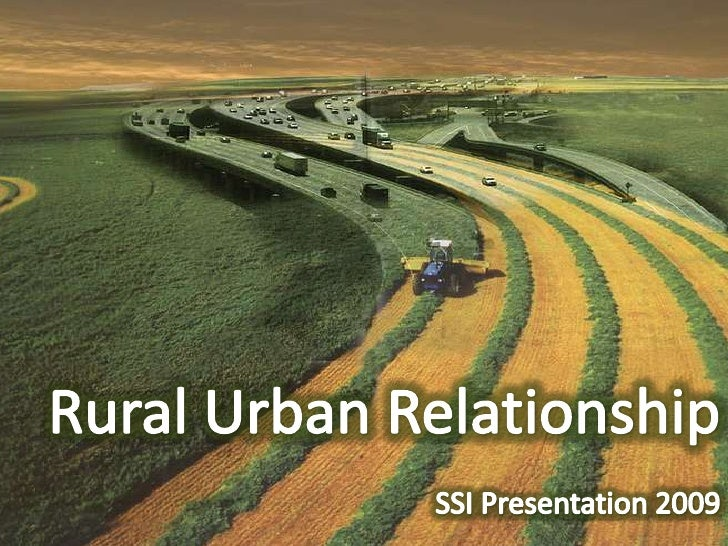 Rural Urban Relationship