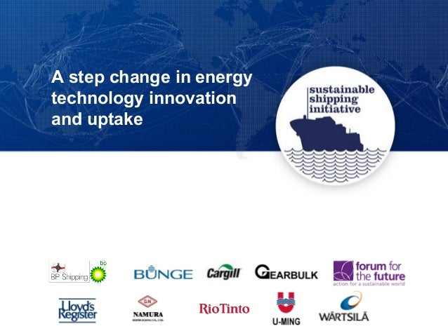 A step change in energy technology innovation and uptake