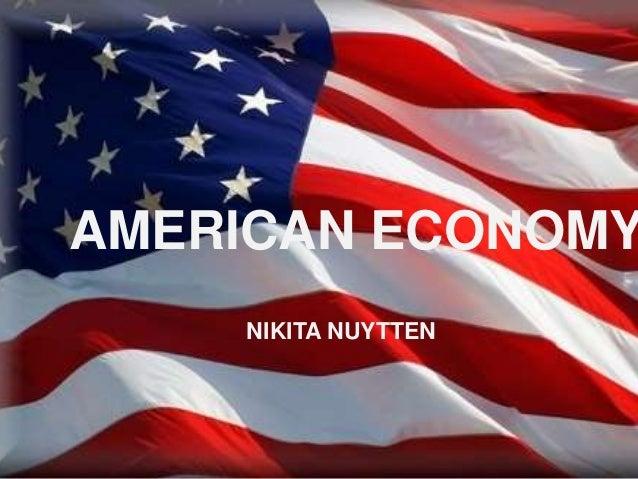 AMERICAN ECONOMY NIKITA NUYTTEN