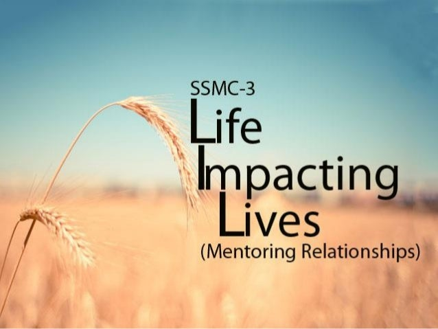 1. Our Purpose-Vision 2. The Mentoring Relationship (MR) A. Biblical Basis B. What is a MR? C. The Mentor - Discipler D. T...