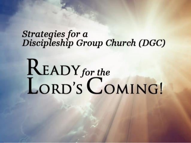 I. We are living in the End- Times. II. We must continue to get ourselves ready for the Lord's Coming for us.