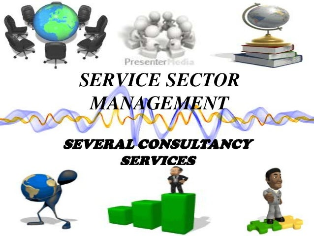 SERVICE SECTOR MANAGEMENT SEVERAL CONSULTANCY SERVICES