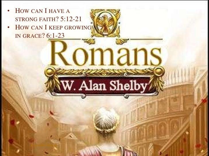 Ssm Romans Week 5   092009