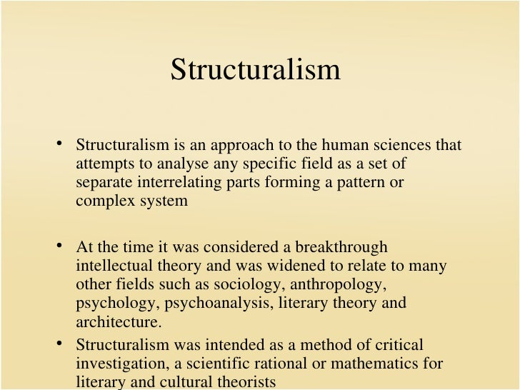 structuralism and post colonialism cultural studies essay Main differences between structuralism and post-structuralism theoretical differences: structuralism was a literary movement primarily concerned.