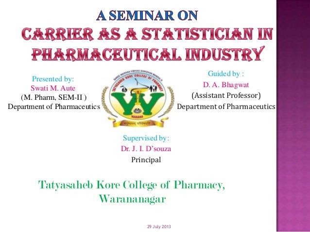 29 July 2013 Presented by: Swati M. Aute (M. Pharm, SEM-II ) Department of Pharmaceutics Supervised by: Dr. J. I. D'souza ...
