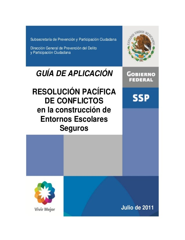 Subsecretaría de Prevención y Participación CiudadanaDirección General de Prevención del Delitoy Participación CiudadanaGU...