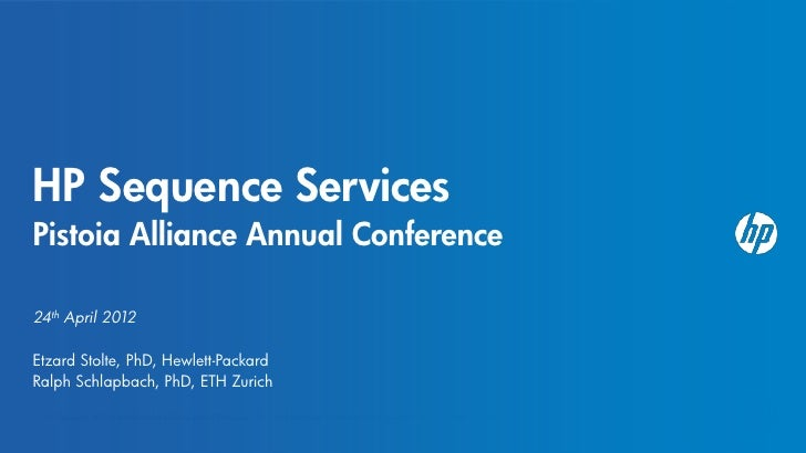 Sequence Services Phase 2--Hewlett-Packard