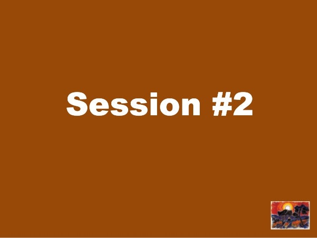 Session #2Session #2
