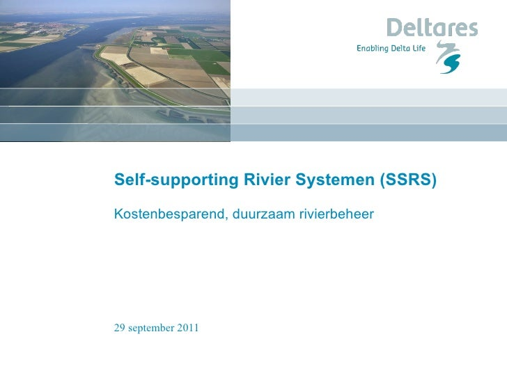 SSRS: duurzaam rivierbeheer