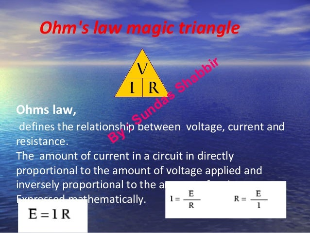 ohms law investigation And finally, to calculate the resistance i used the ohm's law formula of r=v/i analysis: my experiment was very successful and the results i got proved to be quite accurate and precise therefore my graphs and result tables provide me with a base to understand just why length affects the resistance.