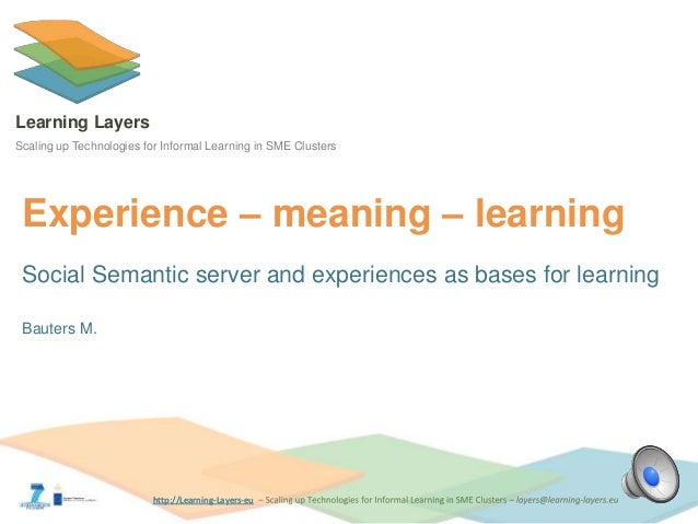 Sss experience learning
