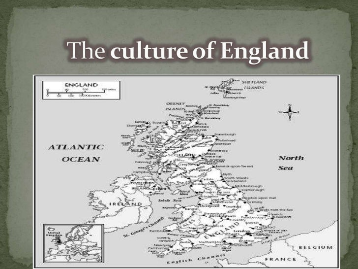 The culture of England<br />
