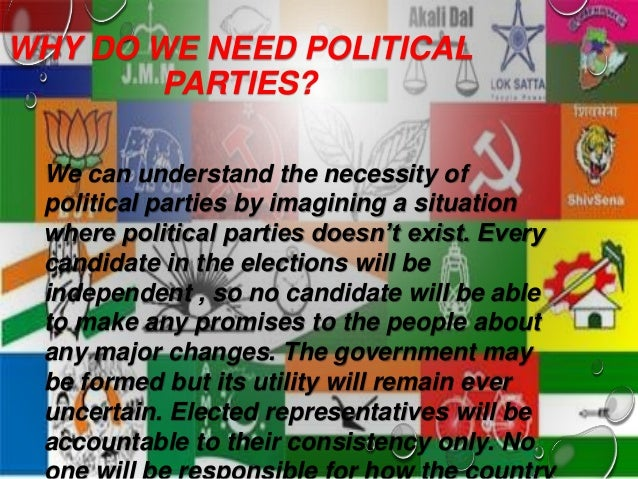 role of political parties in india essays