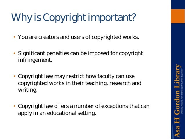 copyright research paper