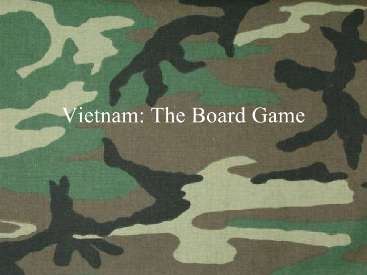 Vietnam: The Board Game