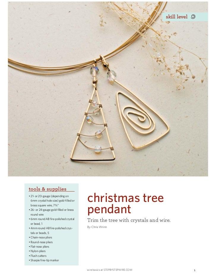 skill leveltools & supplies                   christmas tree                   pendant                   Trim the tree wit...