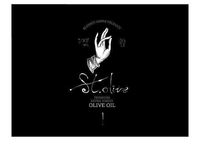 St. Olive - Premium EVOO product presentation