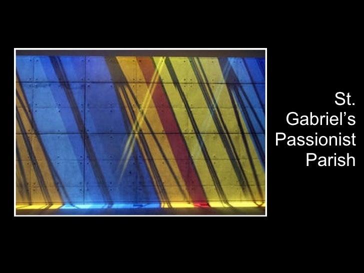 St. Gabriel's Passionist Parish