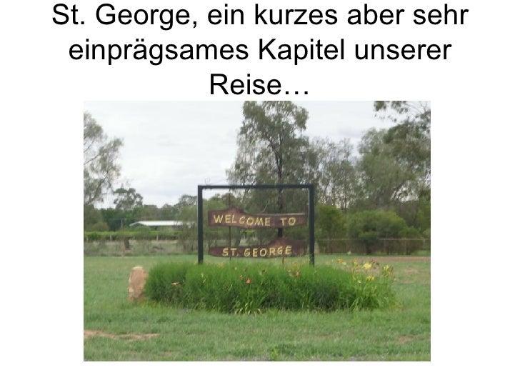 St. George, ein kurzes aber sehr einprägsames Kapitel unserer Reise…