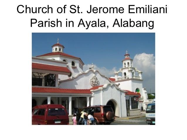 Church of St. Jerome Emiliani  Parish in Ayala, Alabang