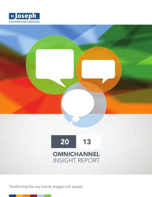 SJC 2013 Omni-channel insight report