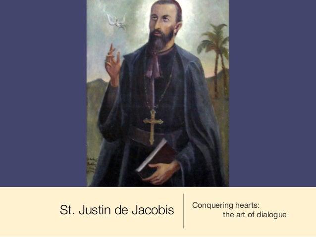 St. Justin de Jacobis Conquering hearts: the art of dialogue