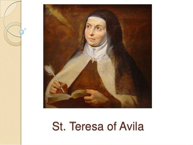the life of saint teresa of avila The life of saint teresa of ávila by herself has 1,639 ratings and 109 reviews caroline said: this is a review of the translation by e allison peersp.