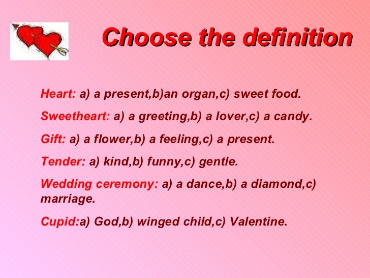 source imageslidesharecdncom report valentine meaning the definition - The Meaning Of Valentine