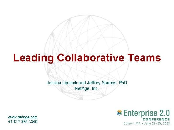 Leading Collaborative Teams