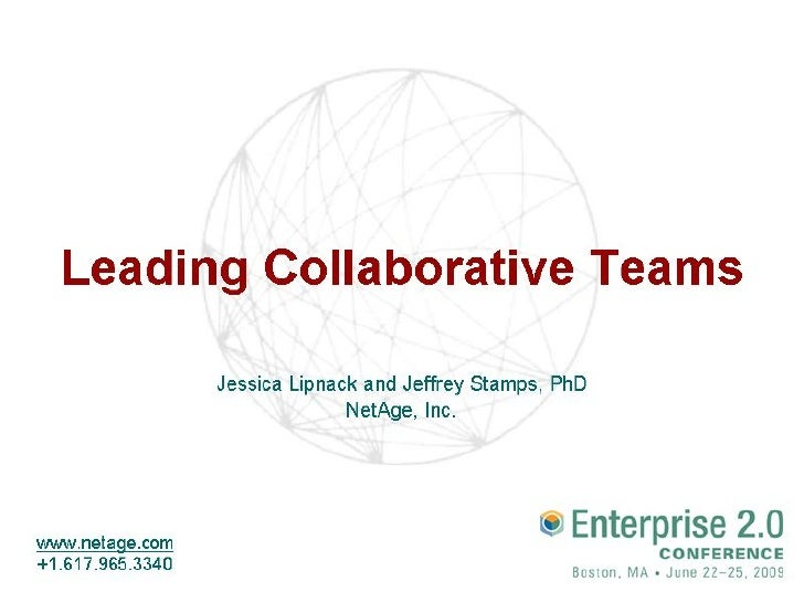Leading Collaborative Teams