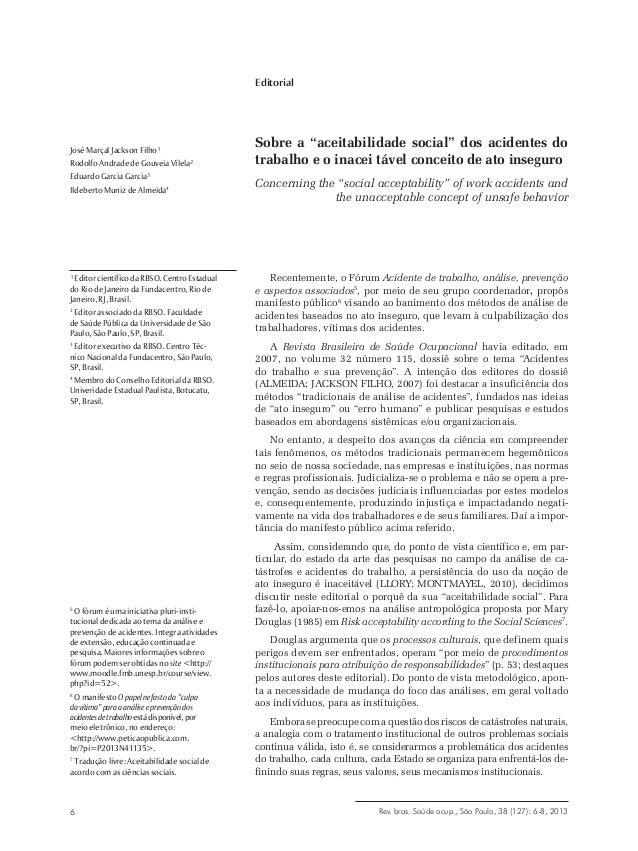 Editorial  José Marçal Jackson Filho¹ Rodolfo Andrade de Gouveia Vilela² Eduardo Garcia Garcia³ Ildeberto Muniz de Almeida...