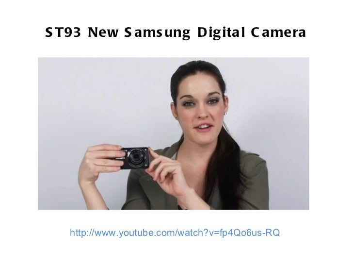 ST93 New Samsung Digital Camera Review
