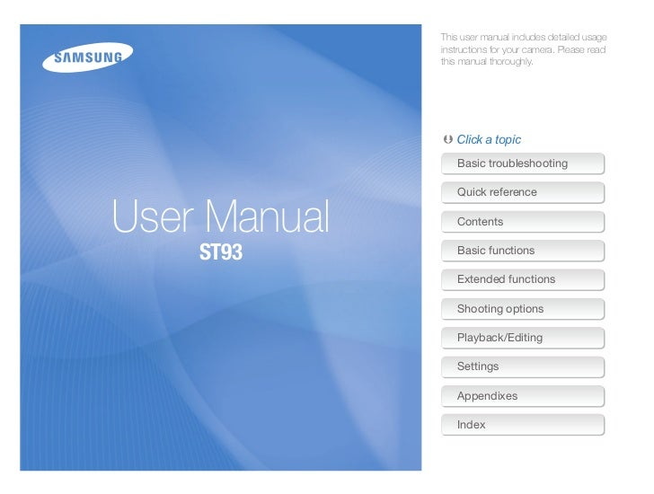 St93 user manual