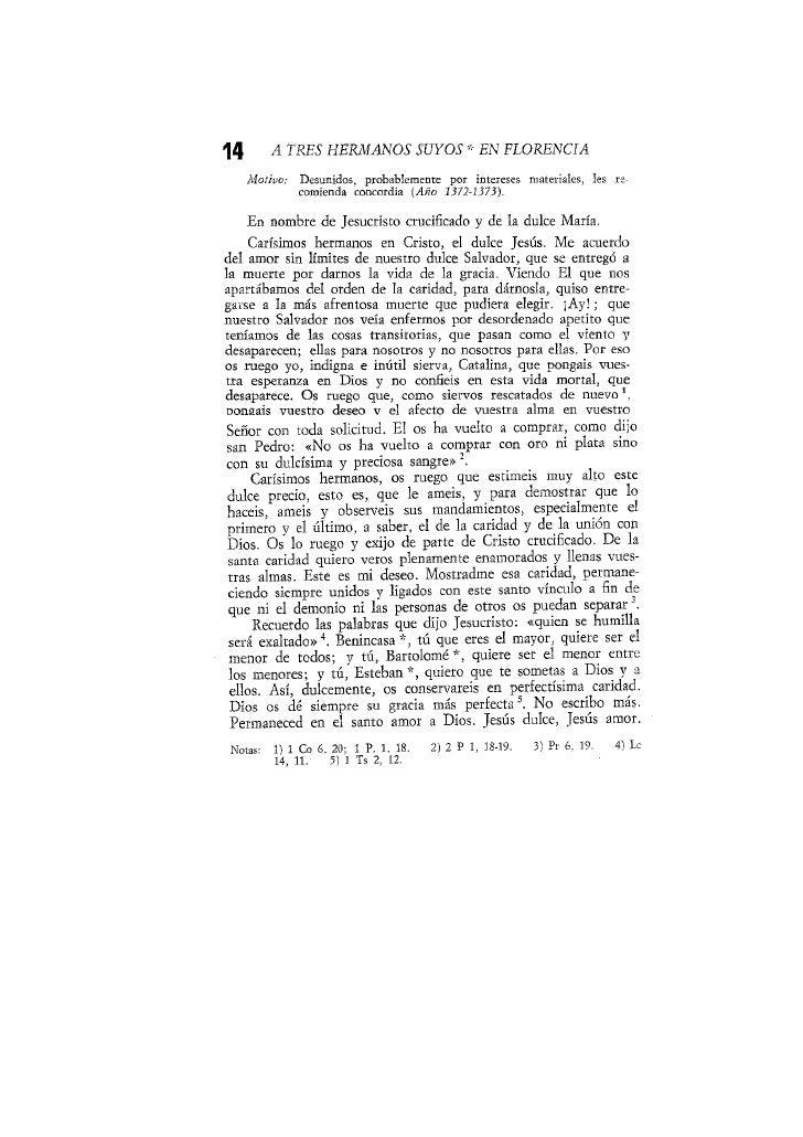 A TRES HERMANOS SUYOS EN FLORENCIA