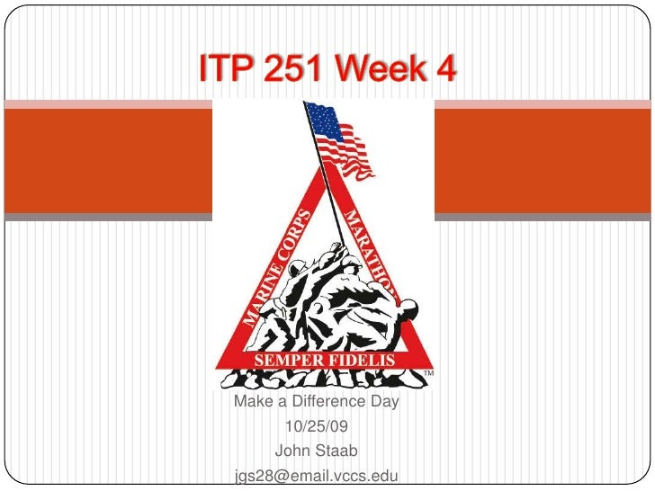Staab   Itp 251   Chapter 4   Madd