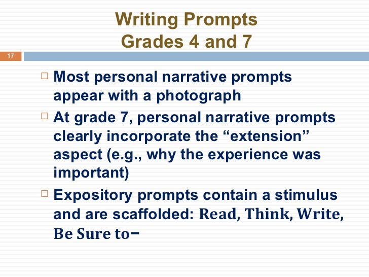 third grade narrative writing prompts Help your students tell their own stories use this packet to teach students how to write a personal narrative paragraph a model story organizer, a blank story organizer, and a personal narrative at four different stages of completion are provided.