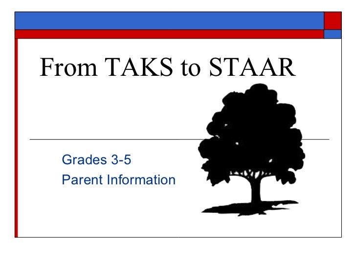 STAAR Parent Information