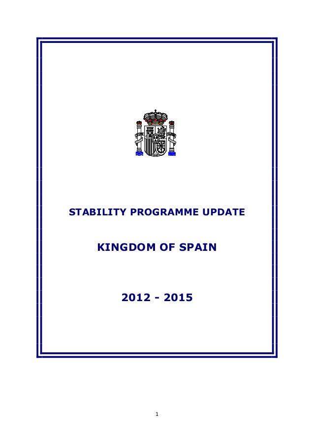Programa de estabilidad