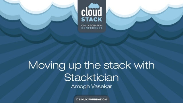 Moving up the stack with Stacktician Amogh Vasekar