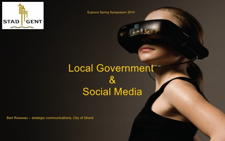 Local Government and Social Media - city of ghent