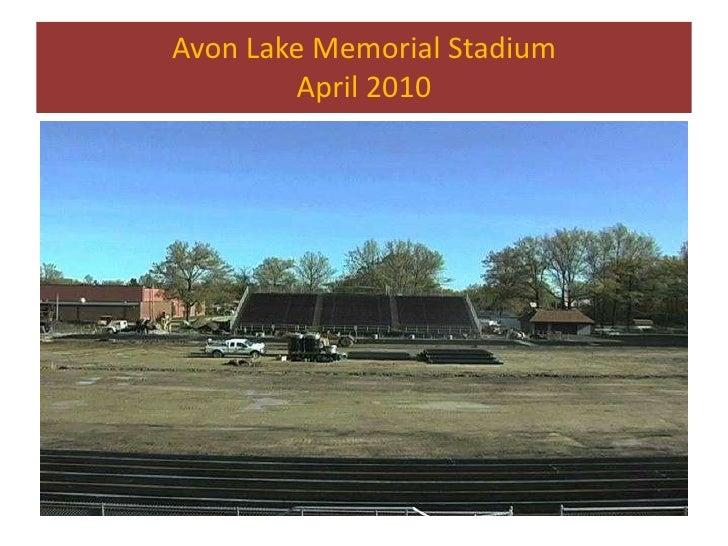 Avon Lake School's Stadium July 2010